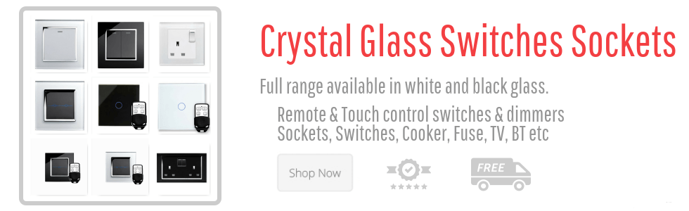 RetroTouch Crystal Switches & Sockets