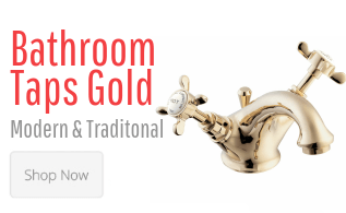 Basin & Bath Taps Gold