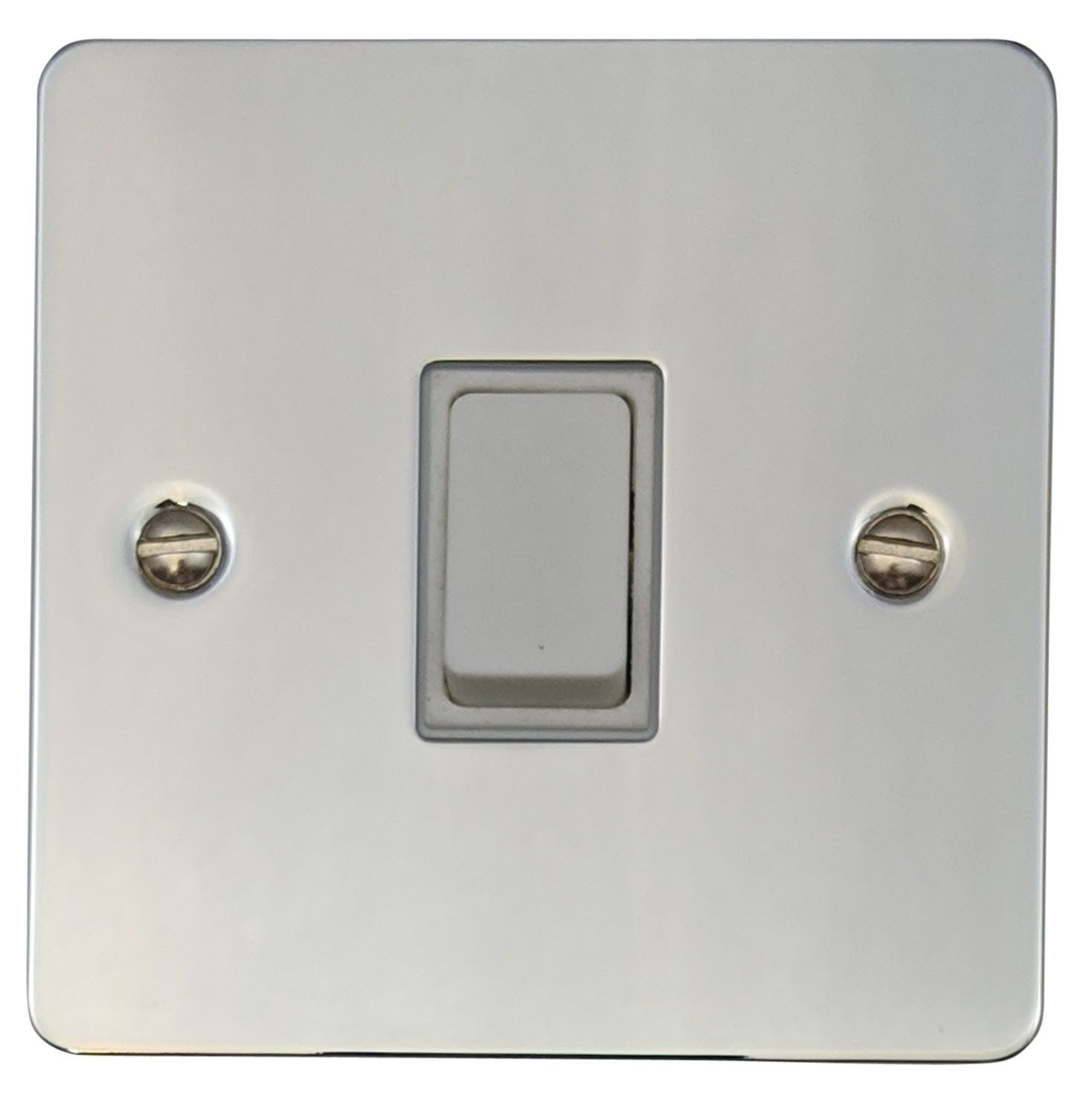 Gh fc1w flat plate polished chrome 1 gang 1 or 2 way rocker light gh fc1w flat plate polished chrome 1 gang 1 or 2 way rocker light switch publicscrutiny Images