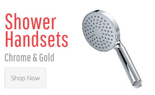 Shower Handsets Chrome & Gold
