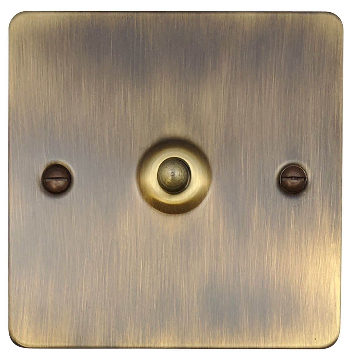 G H Fab281 Flat Plate Antique Bronze 1 Gang 1 Or 2 Way Toggle Light Switch