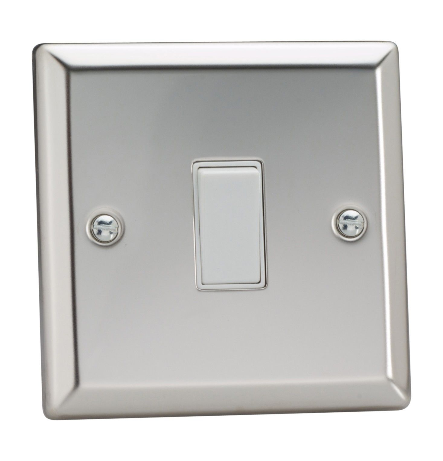Electrical Fittings Mirror Chrome Varilight Classic 3 Gang 10a 1 Or 2 Way Rocker Light Switch Home Furniture Diy Tallergrafico Com Uy