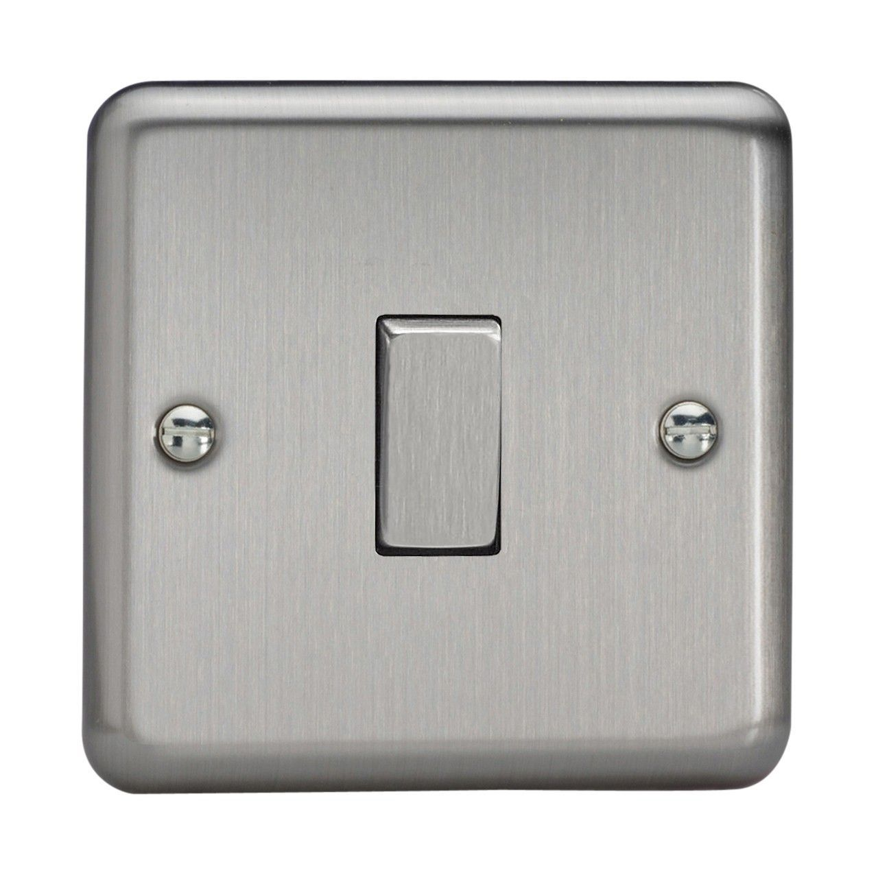 Rocker Light Switch >> Varilight Xs7d Classic Matt Chrome 1 Gang 10a Intermediate Rocker Light Switch