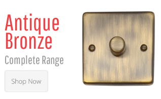 Antique Bronze Light Switches & Plug Sockets
